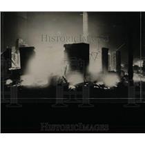 1927 Press Photo Hotel Normandie Fire Ocean City - RRX62691