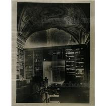 1931 Press Photo Rome Library wing Vatican Electrical - RRX65085