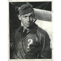 1929 Press Photo Flier Meets Death Howard Keefer Black - RRX88935