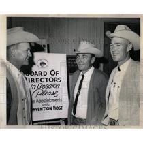 1969 Press Photo Rodeo Cowboys Association Convention - RRW06553