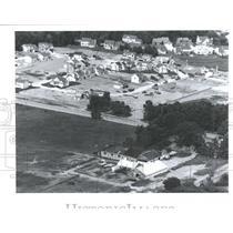 1992 Press Photo Novi Oakland County Michigan farm air