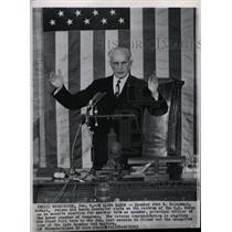 1963 Press Photo John W. McCormack D-Mass. - RRW99537