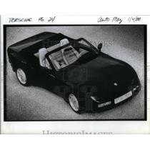 1988 Press Photo Porsche convertible - RRX54761
