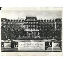 1932 Press Photo Late Woodrow Wilson Geneva Switzerland - RRX81537