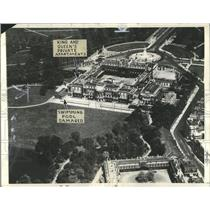 1934 Press Photo Buckingham Palace Aerial Seldom Shot - RRX82087