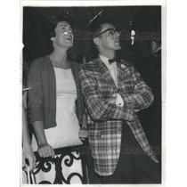 1965 Press Photo Mary Morton and Alvin R. Beatty at Boys club party in Lake Fore