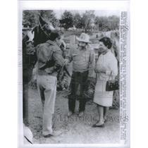 1935 Press Photo Britain Princess Margaret Lord Snowdon Felicio Leon Tuscon