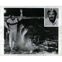 1990 Press Photo Brian Carson famous Car Crash Stunts - RRW06013