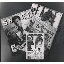 1990 Press Photo Women's Dat Magazine Put on Auction - RRW46843