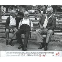 1980 Press Photo Burns Strasberg Carney Going in Style - RRX99729