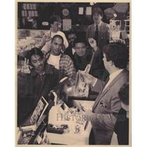 1992 Press Photo Toontown Comic Co Superman Comic Book - RRW48071