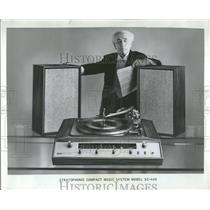 1965 Press Photo Compact Solid State Stereo Receiver