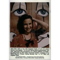1993 Press Photo Teen Magzine Jane Pratt - RRX46447