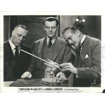 "1939 Press Photo ""Confessions of a Nazi Spy"" movie - RSC75295"