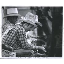 1982 Press Photo Hate Sit Chair