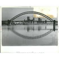 1982 Press Photo West End Bridge Pittsburgh