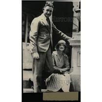 1930 Press Photo Marjorie Cox Finance Craw South wales - RRW74345