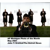 2001 Press Photo John T. Greilick AP Michigan