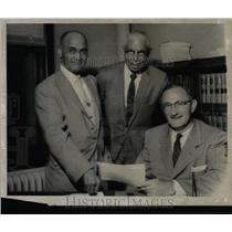 1958 Press Photo McGhee Gubow Burris Negro Brokerage