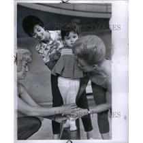 1965 Press Photo Diaper Gym & Swim YMCA - RRX59393