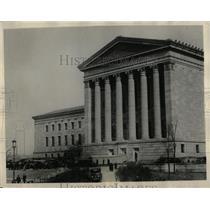 1930 Press Photo New Art Museum Philadelphia - RRX61693