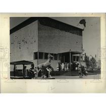 1934 Press Photo Chicago World's Fair Swedish Exhibit - RRW69619