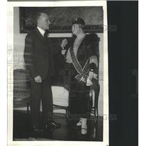 1931 Press Photo Tyrus Filipowez Mrs Woodrow Wilson - RRX88791