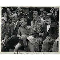 1935 Press Photo Phelps Newberry Detroit Socialite