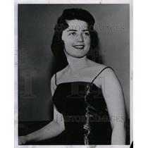 1961 Press Photo Judith M. Lane competes Denver girls
