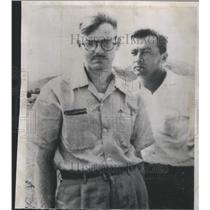1955 Press Photo Walter A. Rickett American Prisoner of War & Scholar