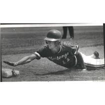 1978 Press Photo Bob Langer Dundee High School State Baseball - RSC28899