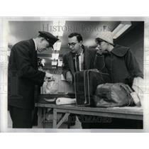 1960 Press Photo Midway Airport Custom McIntosh Luggage - RRU98793
