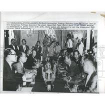 1966 Press Photo Adam Malik Indonesian Foreign Minister Politician - RSC68203