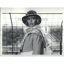1980 Press Photo Britt Ekland The Hostage Tower Actress - RSC66315