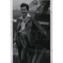 1940 Press Photo Dick James Denver Aviator - RRX41007