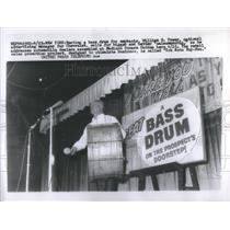 Press Photo William G Power Chevrolet Bass Drum - RSC75063