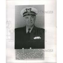 1962 Press Photo Vice Admiral Edwin Roland Commandant of the US coast Guard succ