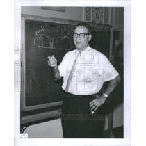 Press Photo Chicago Teacher Dr. Eugene I. Falstein Board Jewish Education