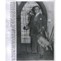 1958 Press Photo A E Mathews British Stage Dean - RSC82133