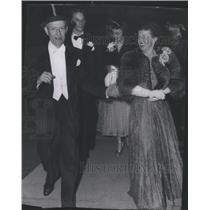 1952 Press Photo Herbert Nock Wife Texas Gamblers - RSC84609
