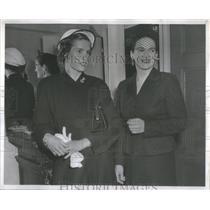 1953 Press Photo Mrs Joseph M McNulty Mrs Frank J Oehlschlager - RSC66505