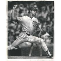 1991 Press Photo Bob Scanlan Baseball Chicago Cubs - RSC86077