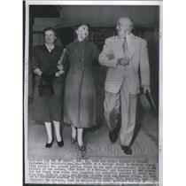 1954 Press Photo Mae Marsh/Lillian Gish/Donald Crisp - RSC95829