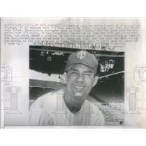 1961 Press Photo Zoilo Versalles Minnesota Twins Metropolitan Stadium
