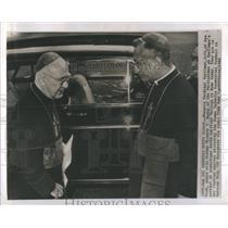 1962 Press Photo Francis Cardinal Spellman New York Bishop Vicente Philippine