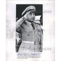 1962 Press Photo Norodom Sihanouk King Cambodia Voluntary Abdication Cambodia