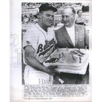 1964 Press Photo Mangaer Hank Bauer Balitmore Orioles - RSC80545