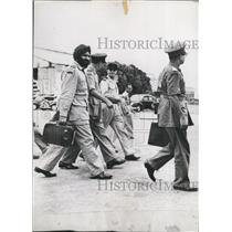 1954 Press Photo Armistice Control Delegates Arrive in Indo-China - KSB70877
