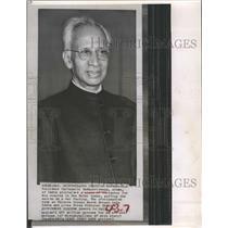 1959 Press Photo President Sarvepalli Radhakrishnan of India - RSH79569
