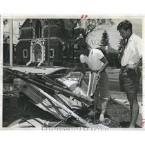 1962 Press Photo Rolly Tanker, Australian sailor, Andrew White - RSH84729